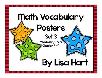 Math in Focus Vocabulary Set 3