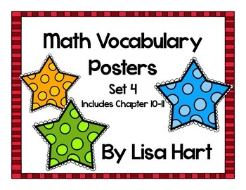 Math in Focus Vocabulary Set 4