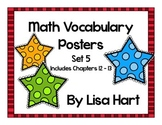 Math in Focus Vocabulary Set 5