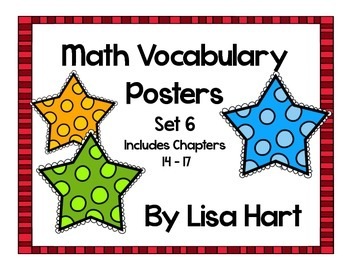Math in Focus Vocabulary Set 6