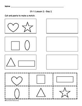 Mathematics in Focus Worksheets Ch 1 Lesson 2 Day 2