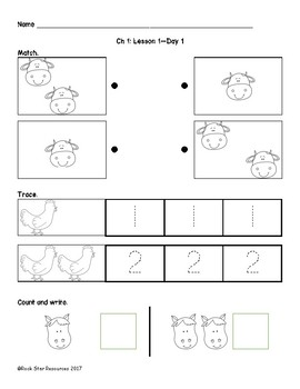 Mathematics in Focus Worksheets Ch 1 Lesson 3 Day 1