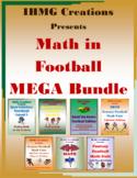 Math in Football MEGA Bundle! (Common Core)