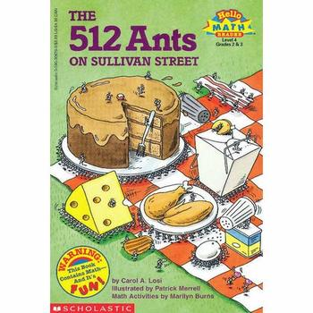Math in Literature Lesson (WITH STANDARDS) - The 512 Ants on Sullivan Street