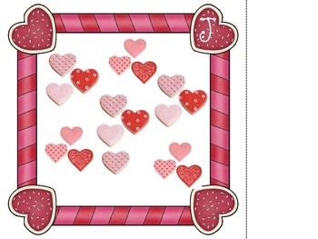 Math in Motion-Valentine Sweet Sets-Counting Sets 10-20