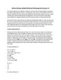 Math in Motion: Waldorf Methods for Morning Circle Grades 1-4