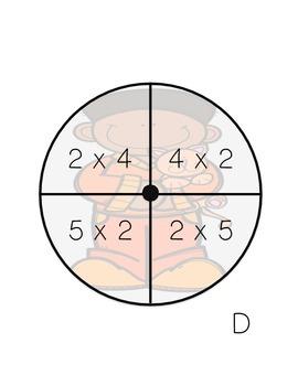 Math in My Pocket ~ Multiplication Fourth -Sixth Grade
