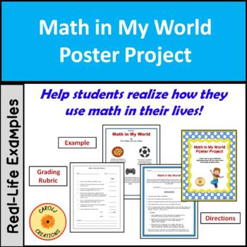 Math in My World Poster Project