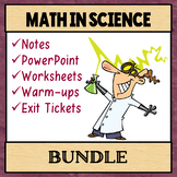 Math in Science BUNDLE