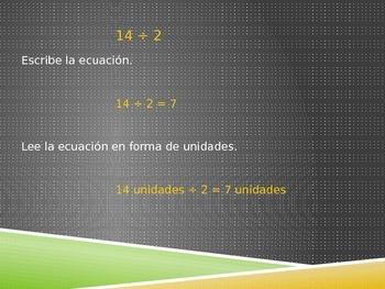 Math in Spanish: Grade 5 Module 1 Lesson 14