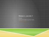 Math in Spanish: Grade 5 Module 1 Lesson 7