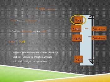Math in Spanish: Grade 5 Module 1 Lesson 8