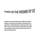 Math in The Wizard of Oz