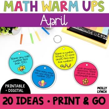 Math in a Minute {April}