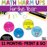 Math in a Minute Bundle