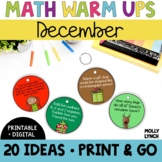 Math in a Minute {December}