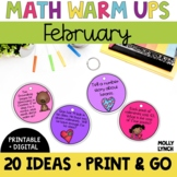 Math in a Minute {Feburary}