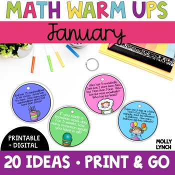 Math in a Minute {January}