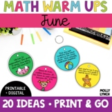 Math in a Minute {June}