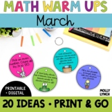 Math in a Minute {March}