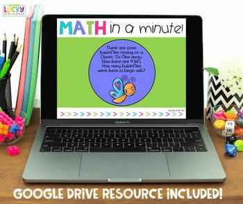 Math in a Minute {March}