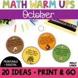 Math in a Minute {October}