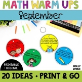 Math in a Minute {September}
