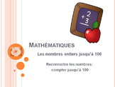 Math in french - counting to 100