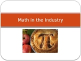 Math in the Food industry introduction