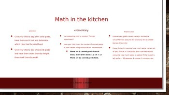 Math in the Home