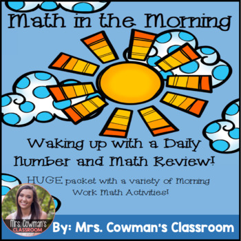 Math in the Morning- Daily Practice and Review!
