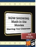 Math in the Movies - The Sequel: An Anytime Activity