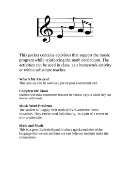Math in the Music Room