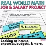 Real Life Math Project: Investigating Jobs, Salaries and Budgets