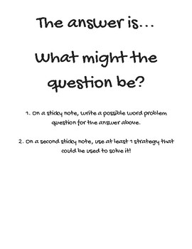 Math inquiry extension chart