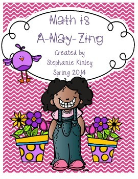 Math is A-May-Zing - 23 Print and Go Sheets