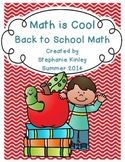Math is Cool - 23 Print and Go Sheets