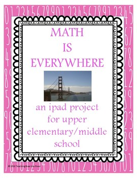 Math is Everywhere Begin the Year Project