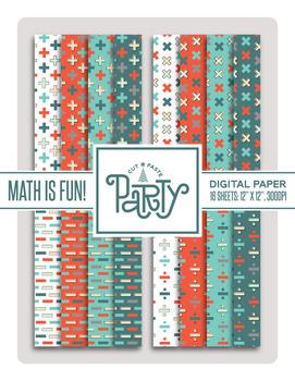 Math is Fun! Digital Paper