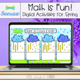 Math is Fun! Seesaw Activities for Spring