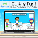 Math is Fun! Seesaw Activities for Winter