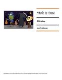 Math is Fun Workbook - Division - HALLOWEEN THEME
