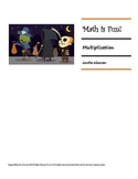 Math is Fun Workbook - Multiplication - HALLOWEEN THEME