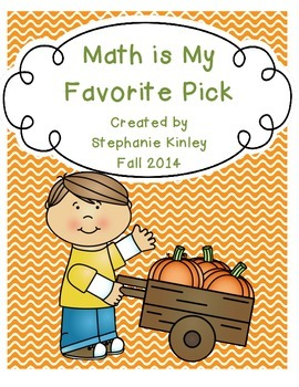 Math is My Favorite Pick - 24 Print and Go Sheets