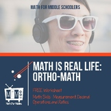 Math is Real Life:  Ortho-Math