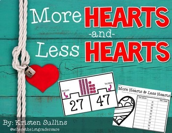 Math is Sweet {Valentine's Day Math Centers}