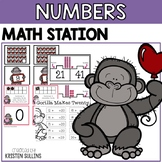 Valentine's Day Number Math Centers