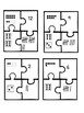 Math jigsaw puzzles, Numbers 1-20