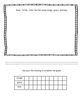 Math journal graphing pages  Interactiive notebook