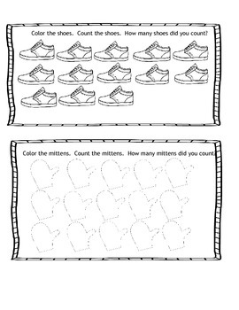 Math journal prompts Interactive notebook numbers 1-20